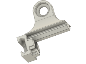 Ender 3 /3 PRO combined Z leadscrew support & filament guide mount