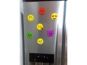 Adorno nevera con imán - Emojis