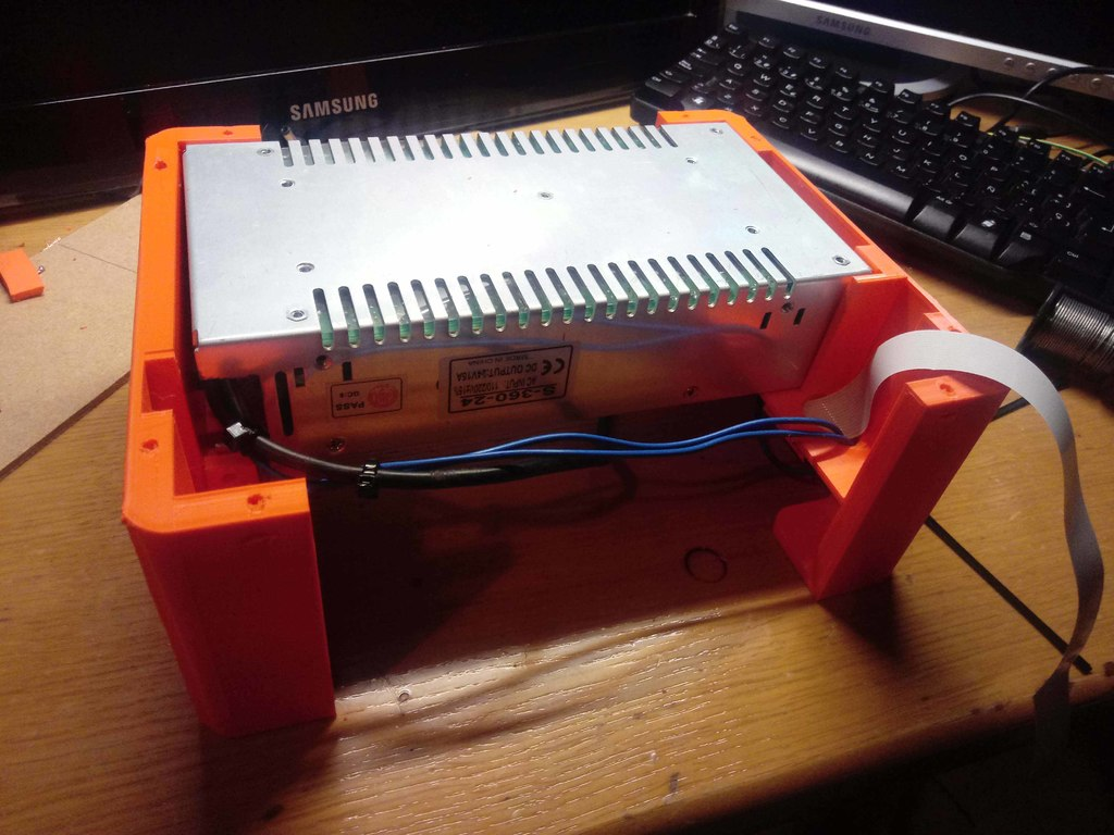kingroon kp3s power supply support under printer