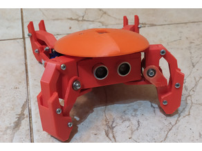 Kame: quadruped robot (version with cheap servo)