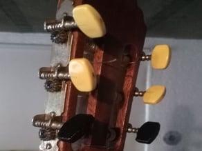 Guitar tuner peg knob