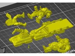 BattleTech Reclaimer A-MRV