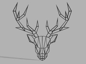 Low poly Buck (Deer)