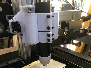 CNC Plasma floating Z torch mount for machine or handheld torch