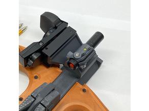 Adjustable Adapter for 15mm diameter laser for Sliding Legolini mini bow