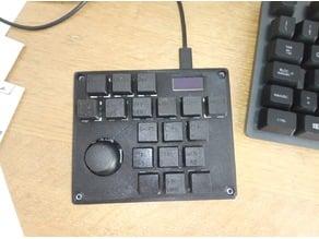3D CAD MACRO KEYPAD custom keyboard