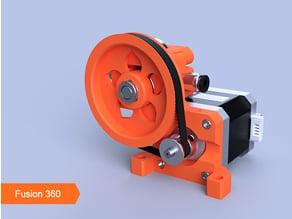 PowerFlower Belted Extruder