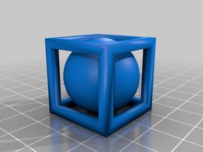 captured ball inside square