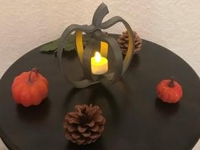 Fall/Halloween Spinning Pumpkin Decoration