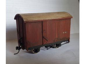 WAGR SN3.5 D Class Box Wagon (AMRA)