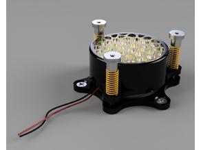 Vibration speaker standalone mount