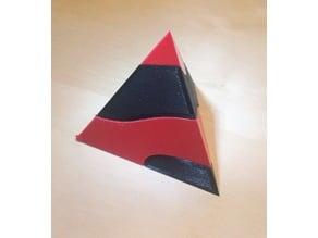 Tetrahedron Screw Puzzle (higher resolution)