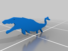 Jurassic World Mososaurs (Flat)
