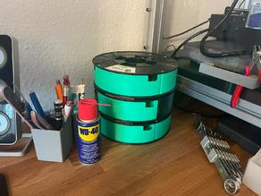 Stackable Spool Storage for Material4Print Spools (No Screws needed)