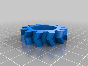 Double helix planetary gear