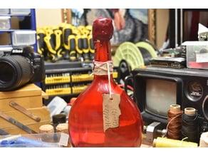 D4 for floating DND potion bottle roller