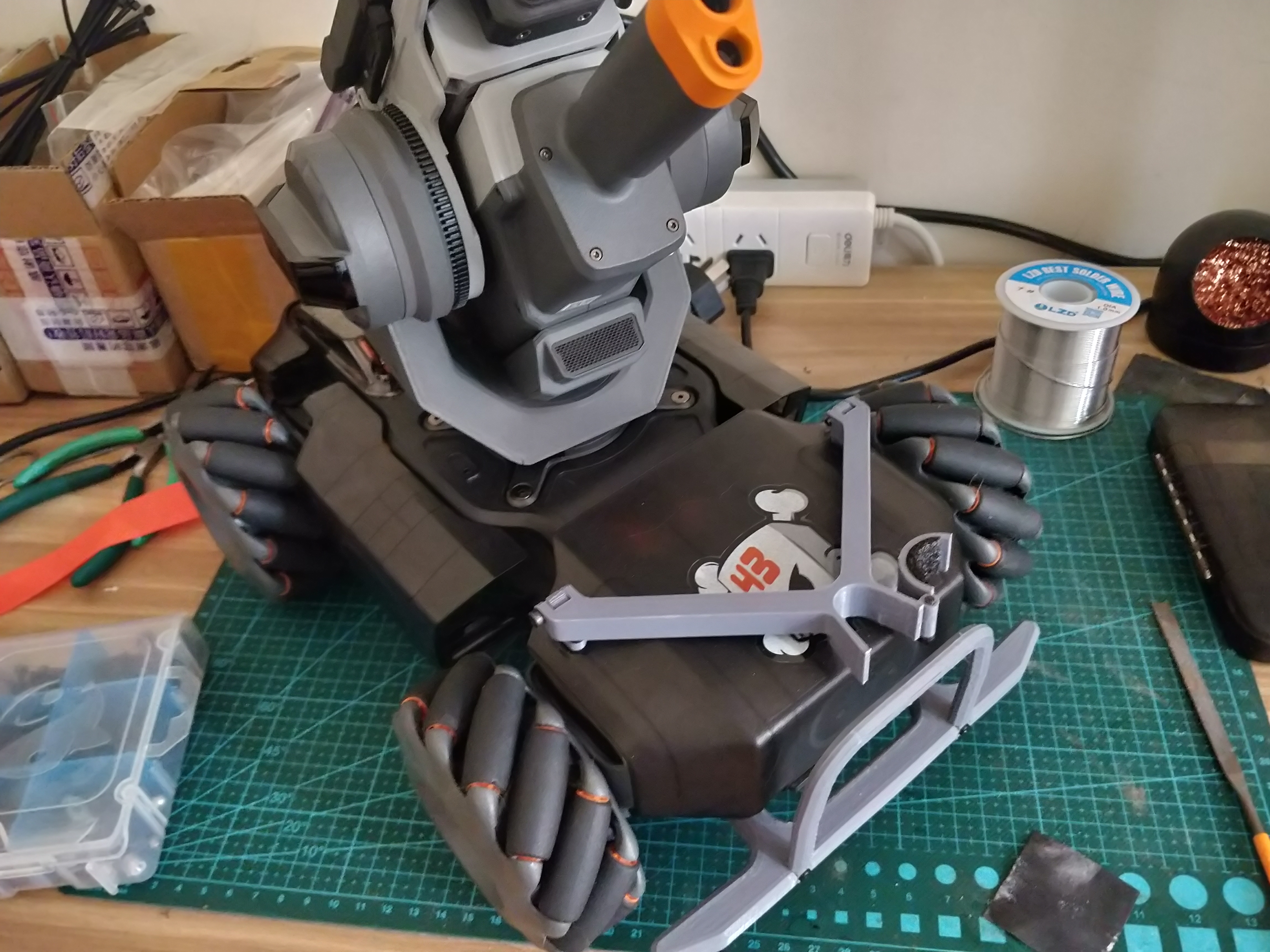 Robomaster S1 cannon holder