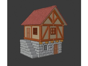 Medieval House (For Tabletop)