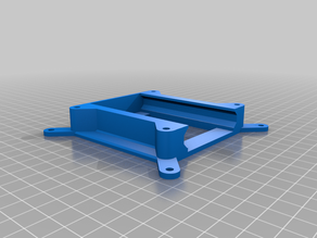 75mm to 100mm VESA adapter and T5 SSD holder