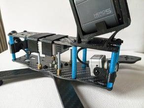 Stingy V2 DJI Unit TPU kit + GoPro Session RS GO mount