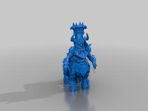 chaos dwarf Bull Centaur - blood bowl - tm