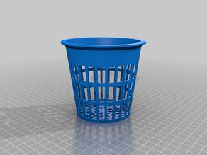My Customized Parametric Net Pot / Net Cup for Hydroponics / Aeroponics / Fogponics
