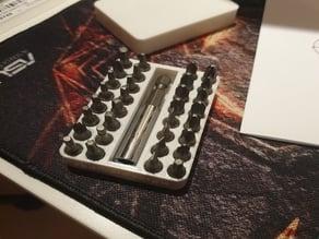 screwdriver bits holder