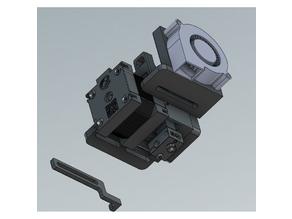 E3D Hemera mount for WITBOX 3d printer