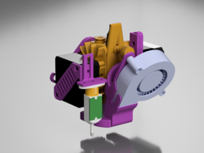 BMG Aero Ender-3 / CR-10 mount