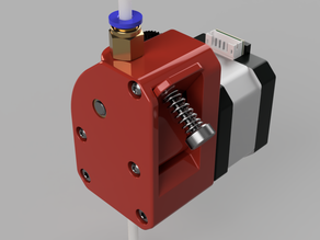 Dual Drive Extruder reduction ratio 4:1