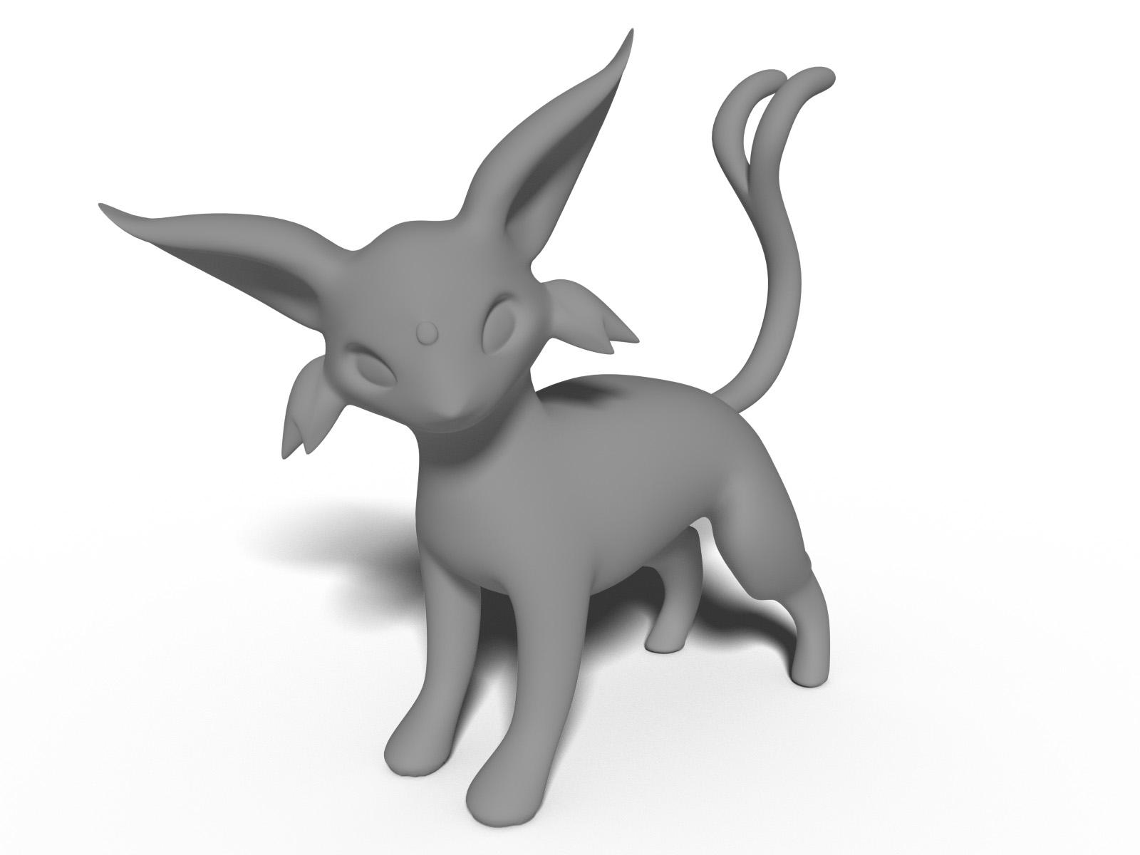 Espeon Pokemon figure