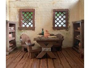 Tavern table set