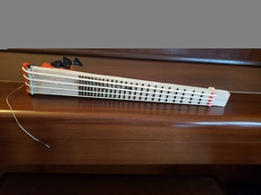 Working Compact Bass Guitar