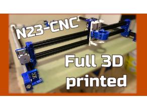 Blue-CNC (Nema 23+Arduino)