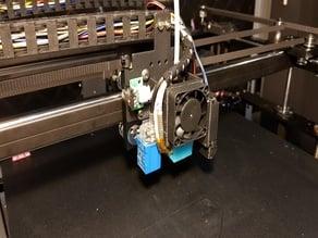 Hotend Fan cowl for a Tronxy X5SA Pro printer