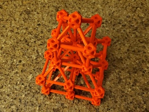 Cuboctahedron Truss Construction Set