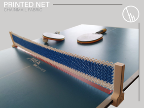 Table tennis net (chainmail)