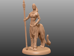 Lamia Lion Variant - Tabletop Miniature