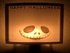 Lithophane nightlight Halloween