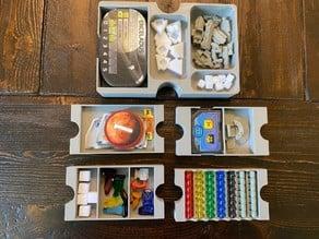 Terraforming Mars Big Box Trays and Small Card Box