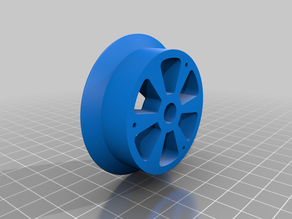 1/10 scale RC wheel hub parts