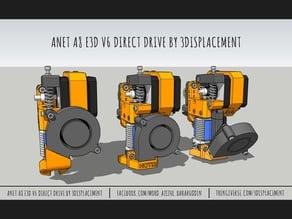 Anet A8 E3D V6 Direct Drive