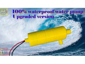 waterproof water pump upgrade version