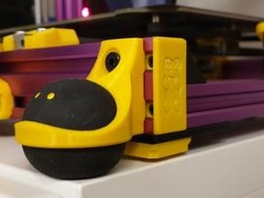 squash ball feet for 2040 v-slot frame printers (e.g. Bear Prusa)