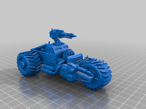 Futuristic Mining Vehicle