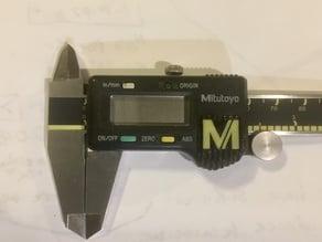 Mitutoyo caliper battery cover