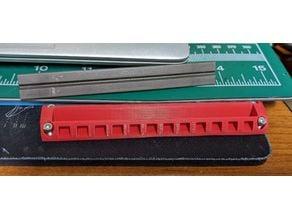 triangle sharpener holder