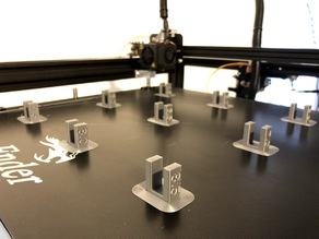 Stringing Retraction Test with numbers