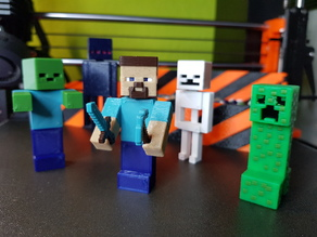 Minecraft figures set - Multi Color