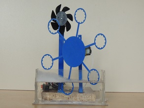 Bubble Blister Robot Machine Educational Kit For Kids